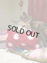【無料プレゼント】猫用アゴ枕(フリース) ※ 柄おまかせ・訳あり